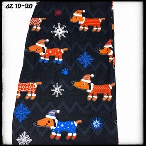 Pants - SALE!! TC Holiday Dachshund Puppy Dog Leggings!!!!